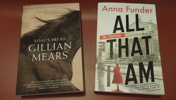 Recent Australian reads ... both of which I'd recommend.